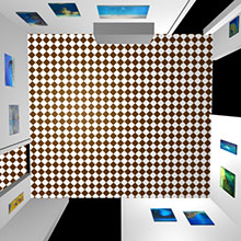 3d Exhibition Room 1 Top