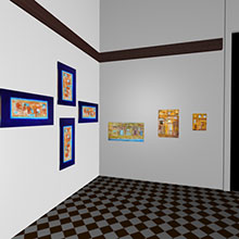 3d Exhibition Room 2 Inside