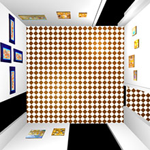 3d Exhibition Room 2 Top