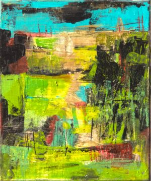 Into_The_Green_1 25x30cm-SOLD