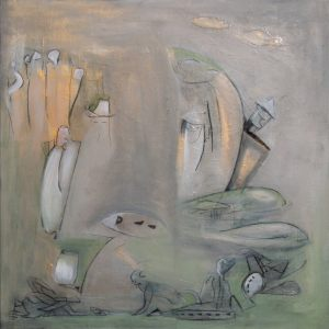Tin_Man_at_Toad_Pond 90x90cm-€810