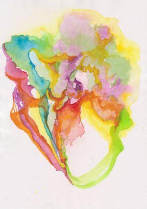 Dancers_three 20x30cm Watercolour