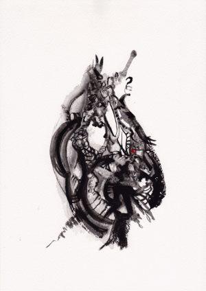My_bleeding_heart 20x30cm