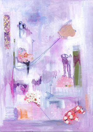 Flower_Power_Hippo 20x30cm_Collage
